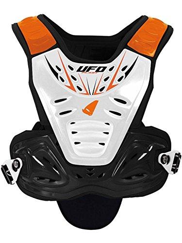 Ufo Orange Valkyrie Evo Short Mx Chest Protector (Default, Orange) (Evo Protector Chest)