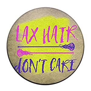 LAX pelo Don 't care antideslizante alfombrillas Circular alfombra alfombrillas comedor dormitorio alfombra Felpudo 23.6pulgadas