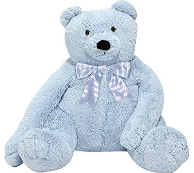 Melissa & Doug Children's Jumbo Blue Teddy Bear