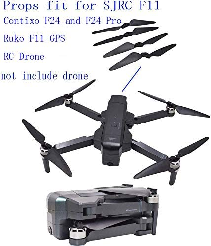 Blomiky 8 F11 Foldable Propllers Props for F11 2-Axis Gimbal and F11GIM SJRC F11 DE22Pro 4K Pro F11 Pro and F24 Pro F35 GPS RC Quadcopter Drone F11 Blades 2 Set