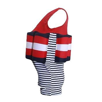 WSBBQ Traje de baño para niños Trajes de baño de flotación ...