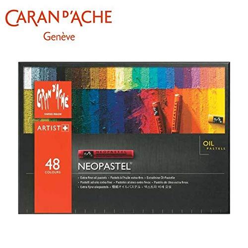 カランダッシュ 7400-348 ネオパステル 48色セット 紙箱入 619433   B07PZ2K53N