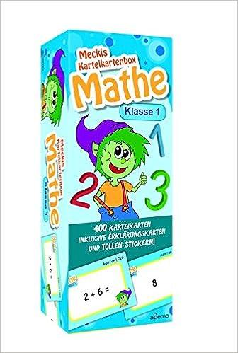 Karteibox Mathe Klasse 1 9783867150804 Amazon Com Books