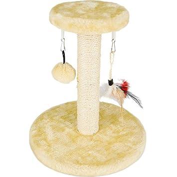 Dedeka Árbol para Gatos Rascador con nidos Hamaca Plataformas Bolas de Juego,Muebles del Gato Árbol ...