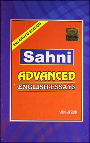 Amazon.in: Buy Sahni Advanced English Essays Book Online At Low Prices In  India | Sahni Advanced English Essays Reviews U0026 Ratings