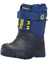 Merrell Unisex-Child Quest Lite WTPRF Waterproof Snow Boot (Toddler)