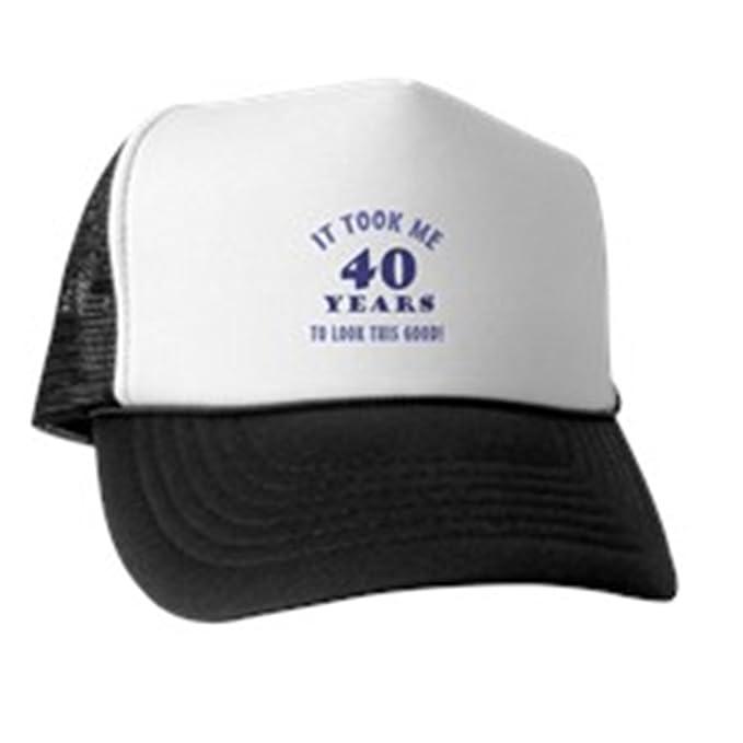 ce0cd14a3c36b Amazon.com  CafePress - Hilarious 40Th Birthday Gag Gifts - Trucker ...