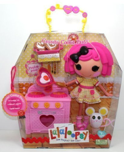 Crumbs Cookie Party - Large Lalaloopsy Sew Magical Doll and Kitchen - Kitchen Set Lalaloopsy