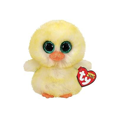 "T&Y Ty Beanie BOOS Lemon Drop - Chick reg 6"" Regular Easter 2020: Toys & Games"
