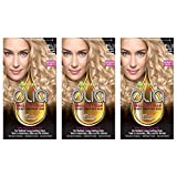 GarnierHairColorOliaOil Powered PermanentHairColor, 9 1/2.1 Lightest,3 count (Packaging May Vary)