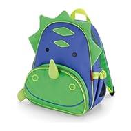 Toddler Backpack, 12 Dinosaur School Bag, Multi