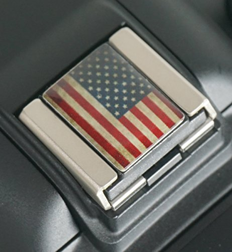 Foto&Tech EXACT FIT'American Flag' Design Hot Shoe Cover Cap for Canon Nikon Sony Panasonic Fujifilm Olympus Pentax Sigma...
