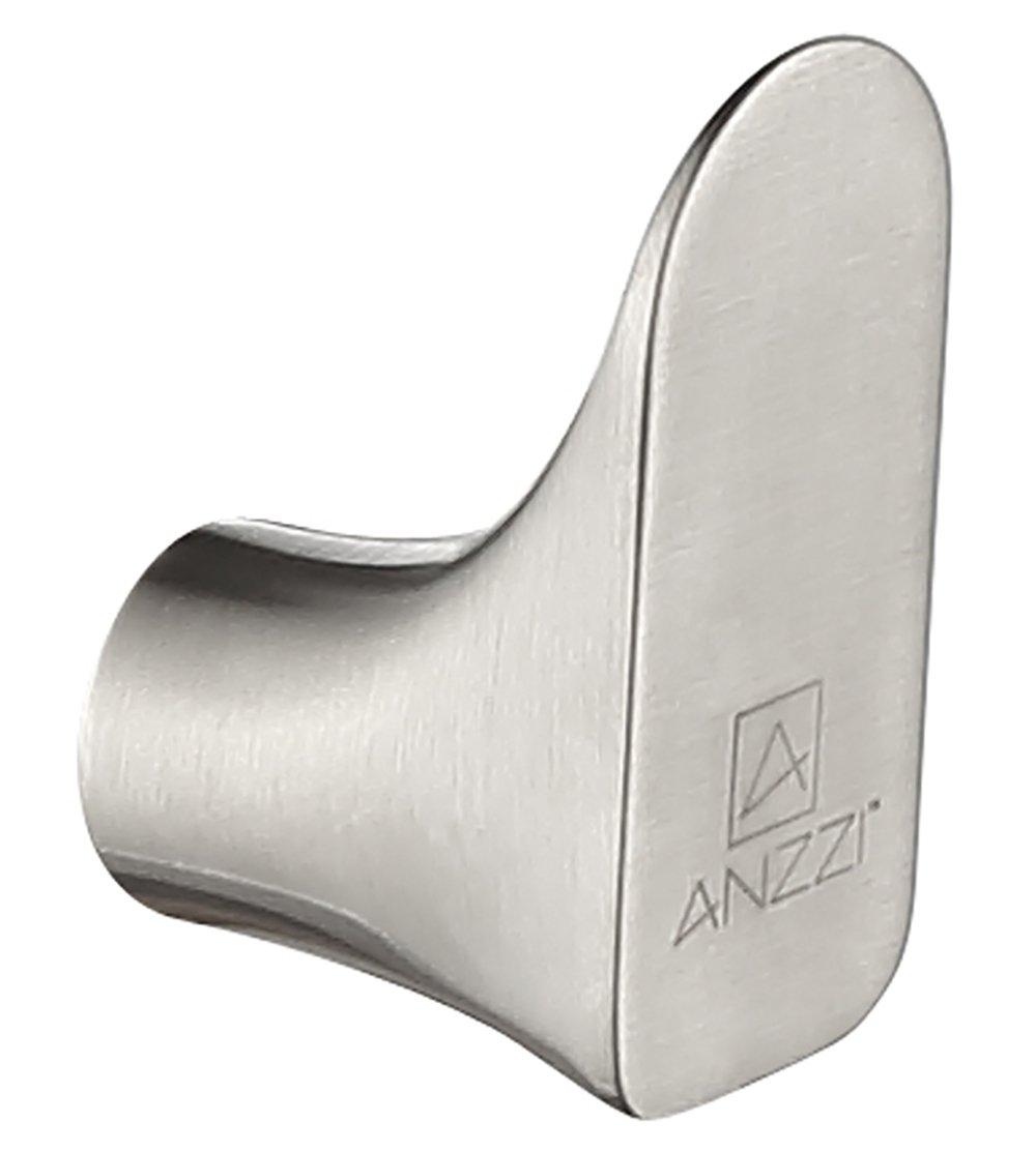 Single Robe Hook - Brushed Nickel - Essence Series AC-AZ049BN - ANZZI by ANZZI