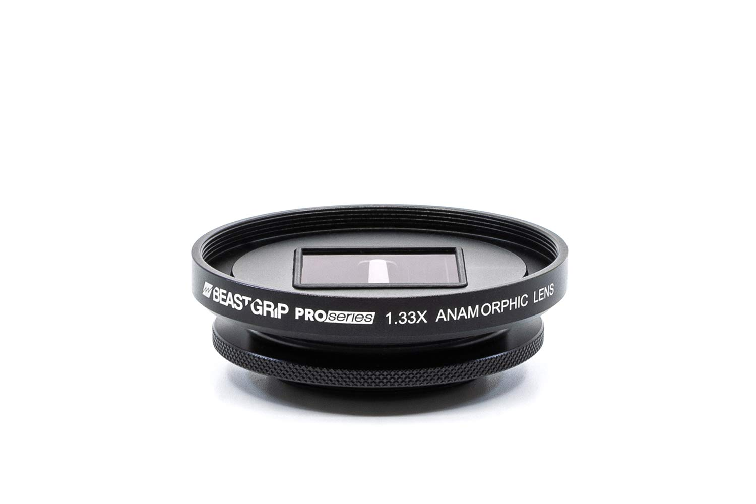 Pro Series - 1.33X Anamorphic Lens by Beastgrip for iPhone, Pixel, Samsung Galaxy, OnePlus and Other Camera Phones by Beastgrip