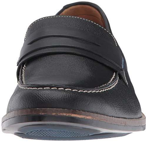 Hush Puppies Mænds Galant Parkview Penny Dagdriver Sort Læder l4TTxBOs