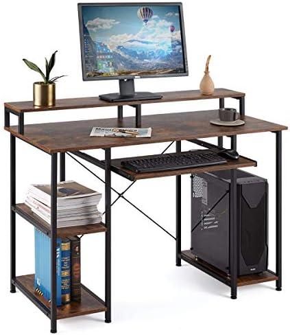 YOLENY Computer Desk,Modern Home Office Desk