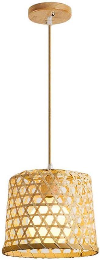 Imagen deAraña, lámpara Colgante de ratán de Mimbre Tropical del sudeste asiático, Techo Colgante de luz Interior,1head