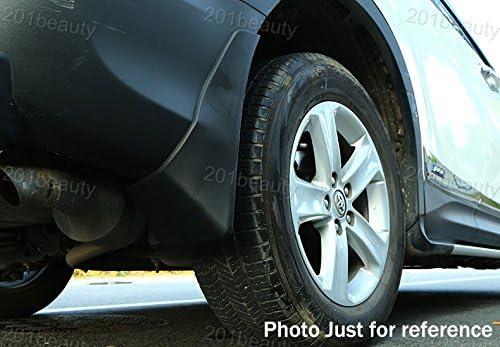 Black 4Pcs Front and Rear Car Mud Flaps Splash Guard Fender Mud Guards Mudguard Mudflaps XC90 2013 2014 2015 2016 2017 2018 2019 2020