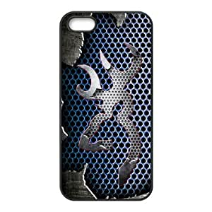 Custom phone shell Browning Cutter Logo Metal Background Pattern Deer Case for Iphone 5S/5 TPU Cases