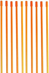 """7ab0712d843c Driveway Markers, Snow Stakes Armor Cap, 4 Ft, ¼"""" (200 Pack"""