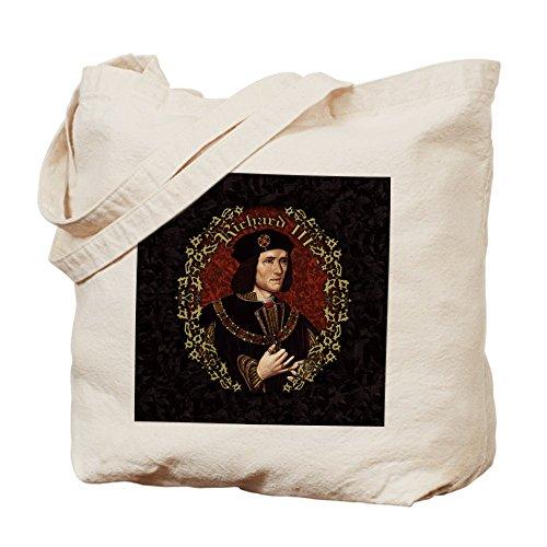Cafepress–Richard III–Borsa di tela naturale, tessuto in iuta