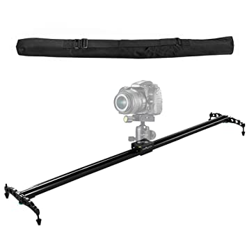 "Review IMORDEN 40""/100cm Camera Slider Ball-bearing Typed Track for DSLR and Video Camera, Smartphone and Gopro with Environmental Carrying Bag(Max Load: 7kg/15lbs)for Youtuber and Film Maker, Use on Tripods"