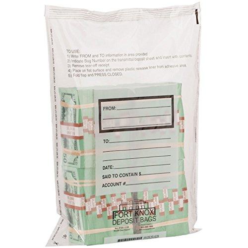 4 Bundle – 15x20x3mil Tamper Evident Bag