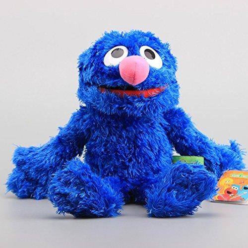Sesame Street Grover Hand Puppet 12 Inch Toddler Stuffed Plush Kids (Plush Figure Hand Puppet)