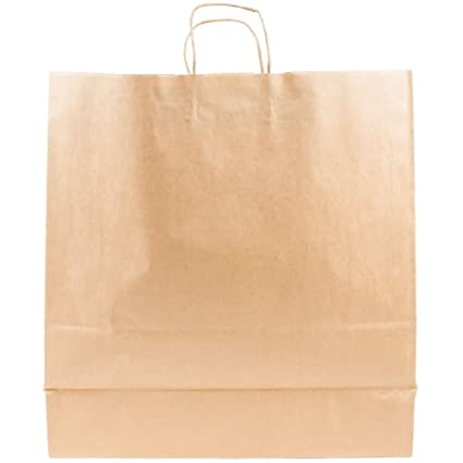ddadea30b9e Image Unavailable. Image not available for. Color  Novolex Duro Cargo Paper  Grocery Bag Kraft ...