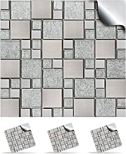 30 Mosaic Wall Tile Stickers For 150mm 6 inch Square Tiles 30