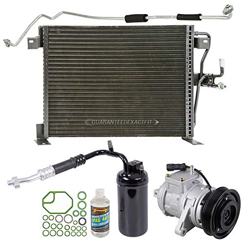 (A/C Kit w/AC Compressor Condenser Drier For Jeep Grand Cherokee 4.0L 1999-01 - BuyAutoParts 60-89583CK New)