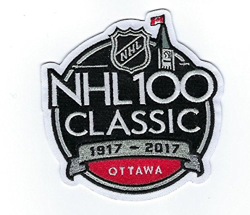 Amazon.com   2017 Official NHL 100th Classic Jersey Patch Ottawa Senators  Montreal Canadiens English   Sports   Outdoors 6cb444220