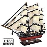 CubicFun 3D Puzzles USS Constitution Vessel Ship