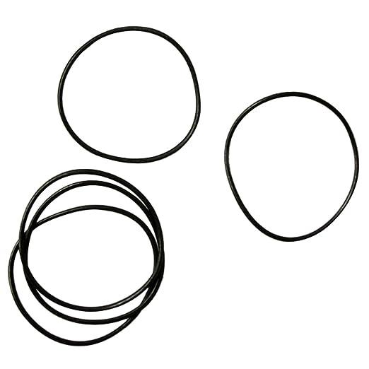 Amazon.com: TOOGOO 950Pcs 0.5MM O-Ring Watch Back Gasket Rubber Seal ...