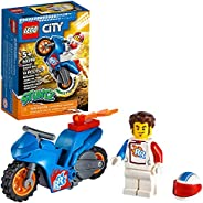 LEGO City Rocket Stunt Bike 60298 Building Kit (14 Pieces)