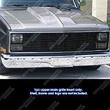 81 chevy truck grill - 81-87 Chevy GMC Pickup/Suburban/Blazer/Jimmy Phantom Black Billet Grille Grill #N19-H20258C