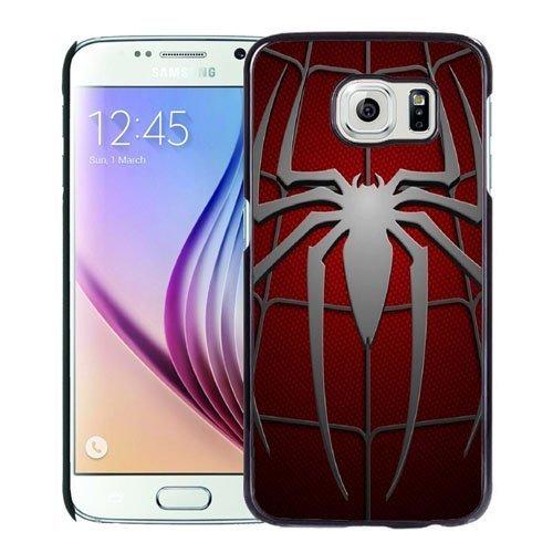 NEW DIY Unique Designed Samsung Galaxy S6 Phone Case For Spiderman Symbol Phone Case Cover
