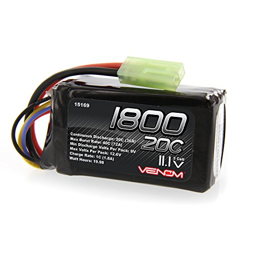 Parrot AR Drone 1.0 and 2.0 20C 3S 1800mAh 11.1V LiPo Battery by Venom