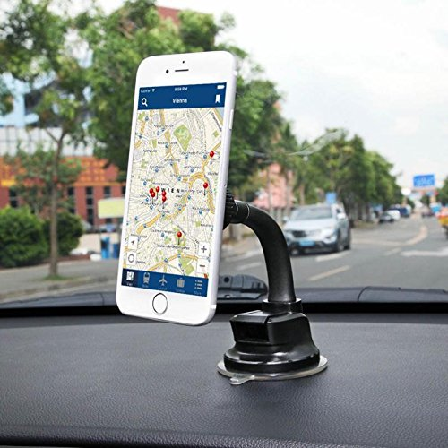 158530e76fe749 delicate Premium Magnetic Car Mount Dash and Windshield Holder Window  Rotating Dock Stand Strong Grip Suction