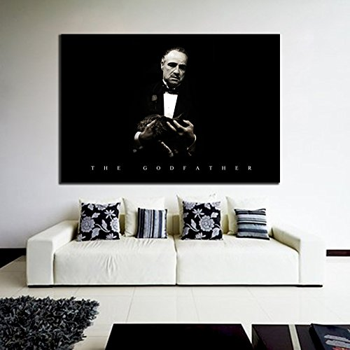 100x147 cm Adhesive Vinyl Poster Mural Movie Godfather Mobster Mafia 40x58 in