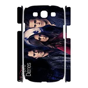 Samsung Galaxy S3 I9300(3D) Phone Case for The Vampire Diaries pattern design GQTVD728115