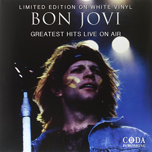 Bon Jovi - Greatest Hits Live On Air ( White Vinyl) - Zortam Music