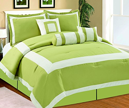 Lime Green And Black Comforter And Bedding Sets
