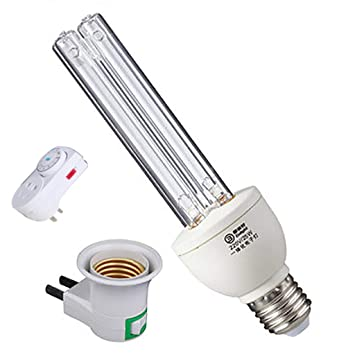 Realgoal 25W UV-Lampe fur Wasser UV-Sterilisator UV-Desinfektion