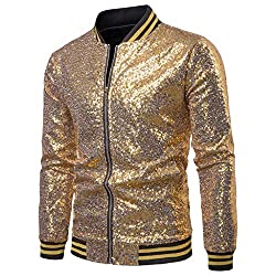 Men's Hipster Sequin Jacket