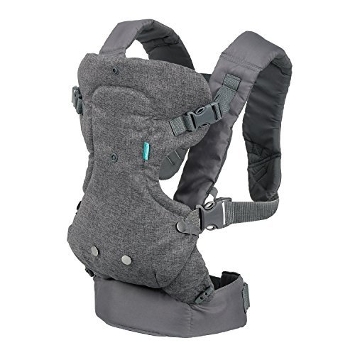 Infantino Flip Advanced 4-in-1 Convertible Carrier, Light Grey by Infantino
