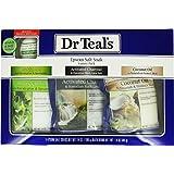 Dr Teal's Epsom Salt Soak Variety 3-Pack Travel Gift Set with Eucalyptus Bath Bomb