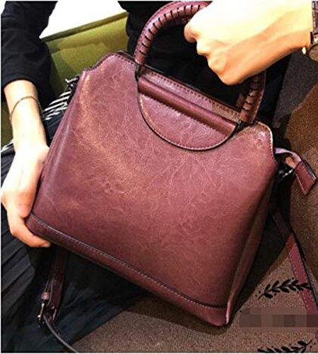 Vtootkl Lxopr @ Leather Shoulder Bag, Crossbody Bag, Backpack, Lady, 10.6 * 4.7 * 8.6 (inch) Pink