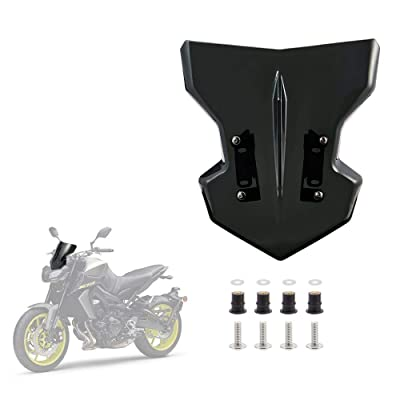 Windscreen Windshield Compatible with Yamaha FZ 09 MT-09 2020 2020 2020 2020: Automotive