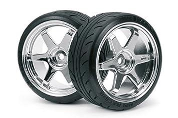 Amazon.com: HPI Racing 4704 montado Super Drift neumático ...